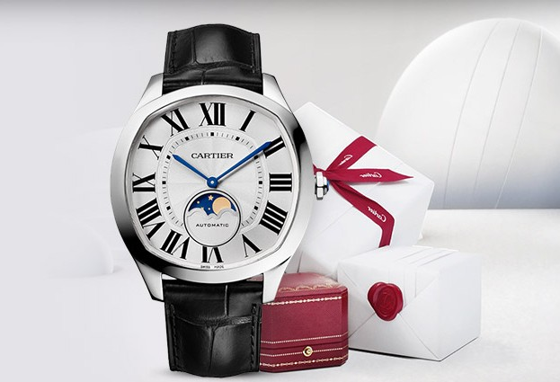 Put on Cartier couple Replica watches to make couples live closer