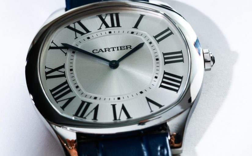 On Hands of Perfect Replica Cartier Drive Extra-Flat Watch